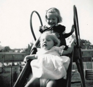 December 1954 with Laurie
